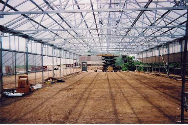 Springwood Gardens Greenhouse Construction